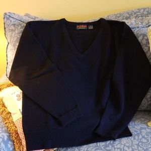 Jos A Bank Vintage 80s 100% Lambswool Sweater